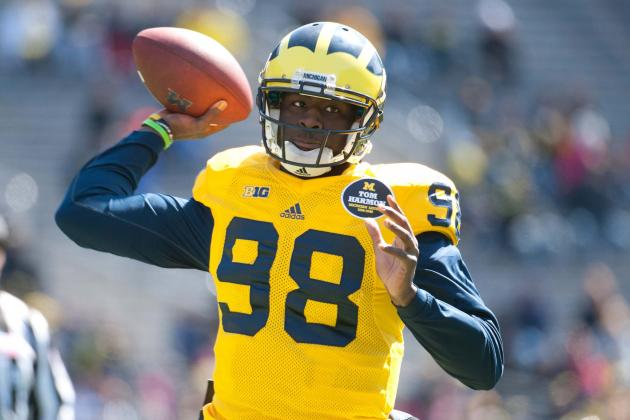 Brady Hoke Expects QB Devin Gardner to Open Season as Starter