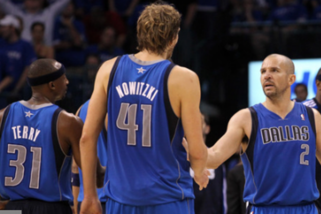Jason Terry, Jason Kidd, Steve Nash Highlight Dirk Side-Kicks