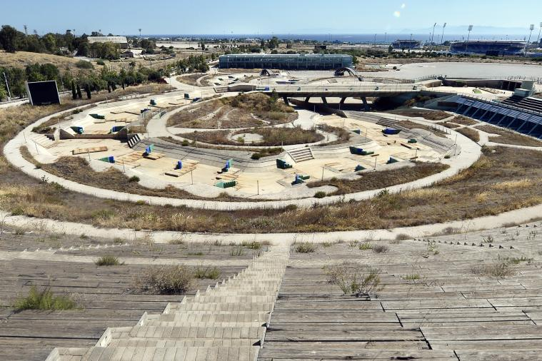 Olympic Venues from 2004 Athens Games Lie in Ruins 10 Years Later