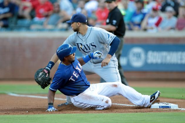 Rangers Top Rays on Walk-off Walk in 14