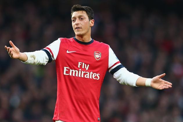 Mesut Ozil Refreshingly Accepts Criticism of Debut Season at Arsenal