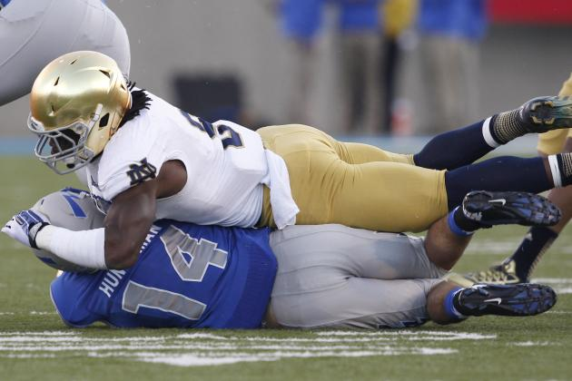 Notre Dame's Jaylon Smith Seeks Every Answer in Pursuit of Greatness