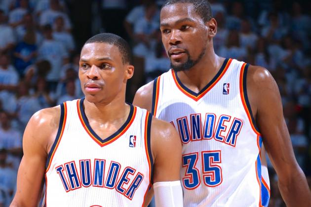 What's Left of Kevin Durant and Russell Westbrook's Ceilings?