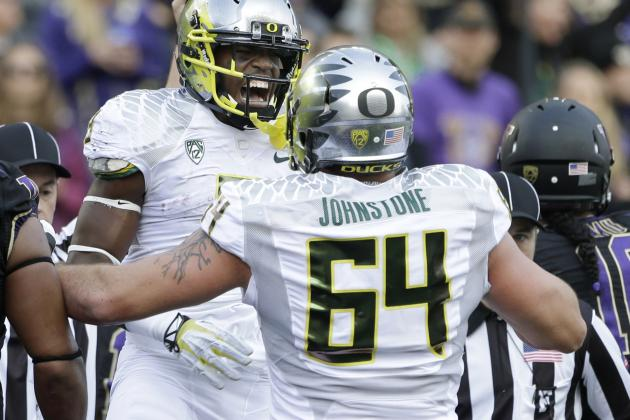 Oregon Football: Losing Tyler Johnstone Leaves O-Line No Margin for Error