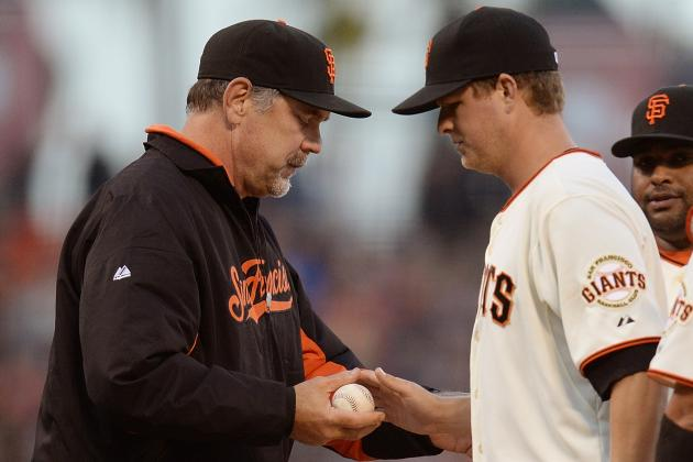 Giants Pitcher Matt Cain Has Bone Chips Removed