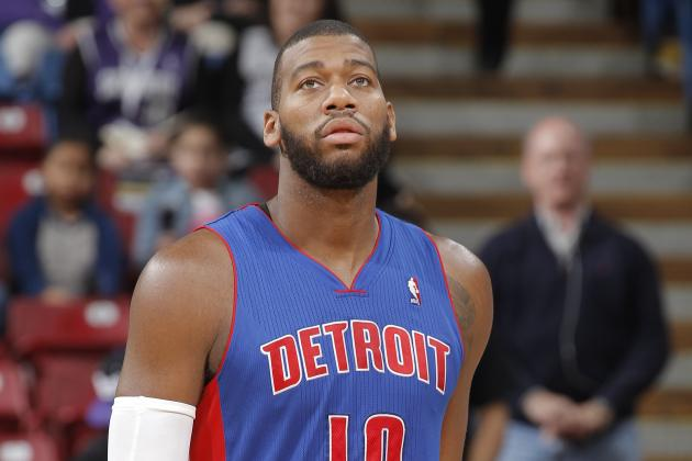 Pros and Cons of Greg Monroe Taking Qualifying Offer from Detroit Pistons