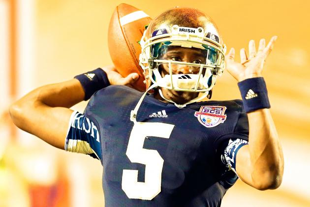 Everett Golson Named Notre Dame's Starting QB vs. Rice