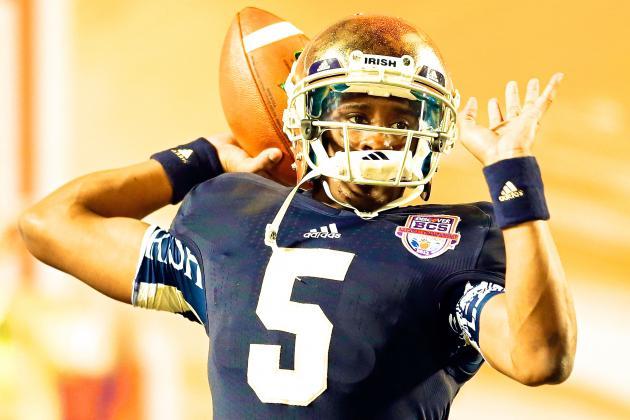 Everett Golson Named Notre Dame's Starting QB vs. Rice