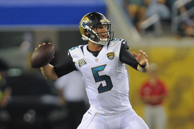 How Blake Bortles Can Continue Improving This Preseason