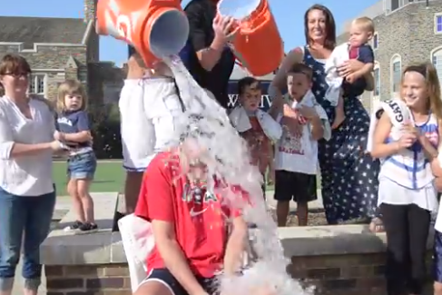 Team USA Coach Mike Krzyzewski Takes on ALS Ice BucketChallenge
