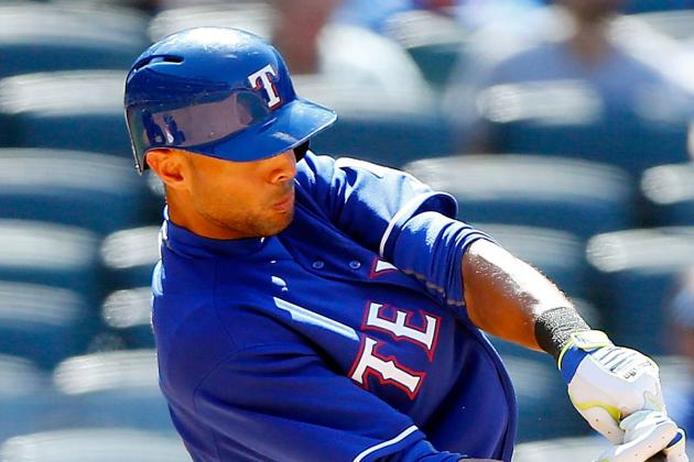 Alex Rios (Ankle) Starting Wednesday After Sitting 2 Games