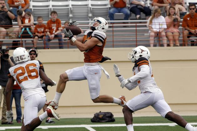 Texas Football: Analyzing Longhorns' WR Depth Heading into 2014 Season