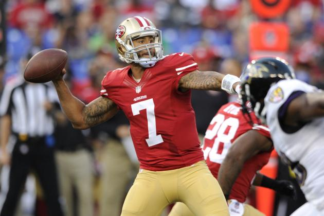Colin Kaepernick Poised to Become Elite Passer for 49ers in 2014
