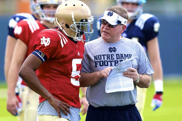 Perfect Time for Brian Kelly to Name Everett Golson as Notre Dame's Starting QB
