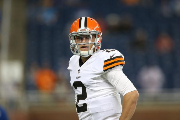 Johnny Manziel Facing No-Win Situation in Cleveland as Pressure Mounts