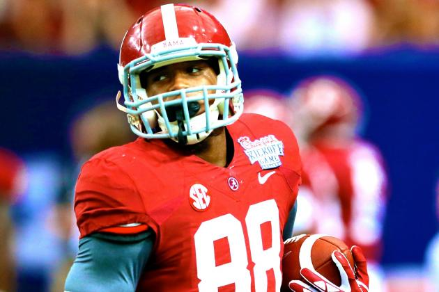 Alabama Football: How OJ Howard Will Be Matchup Nightmare for SEC in 2014