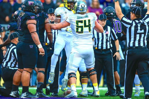 Oregon Football: Losing Tyler Johnstone Leaves O-Line No Margin for Error