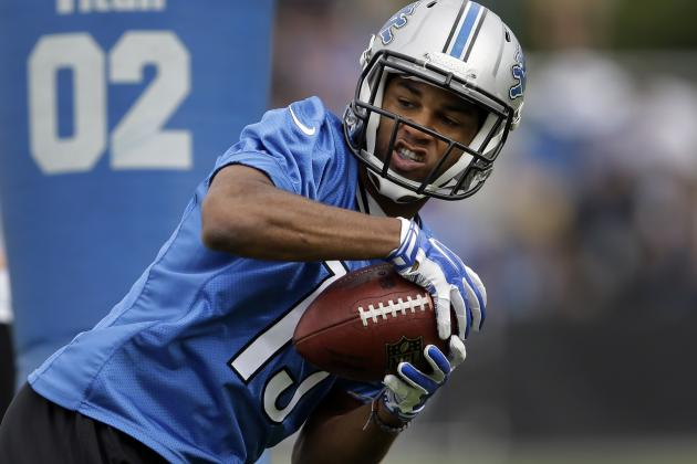 Golden Tate Will Shine as No. 2 Fantasy Wide Receiver in Detroit Lions Offense