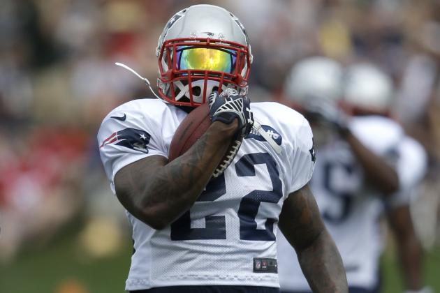 Stevan Ridley's Not Yet Worth Taking as Backup Running Back in Fantasy Leagues