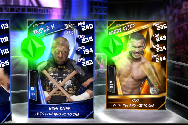 WWE SuperCard Review: Screen Shots and Impressions for New Mobile Card Game