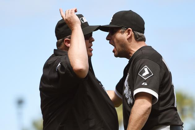 White Sox Frustrated by Obstruction Call in Loss