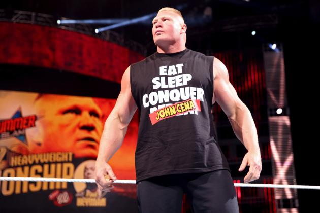 Imagining a Potential Brock Lesnar WWE Title Reign After SummerSlam