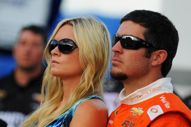 Truex's Girlfriend Being Treated for Cancer