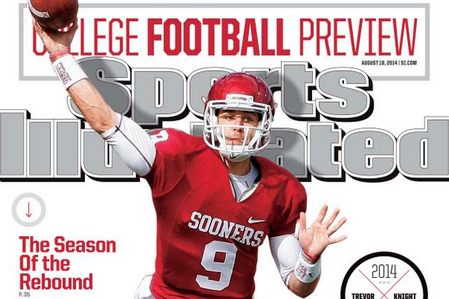 Oklahoma's Trevor Knight Featured on Sports Illustrated Cover