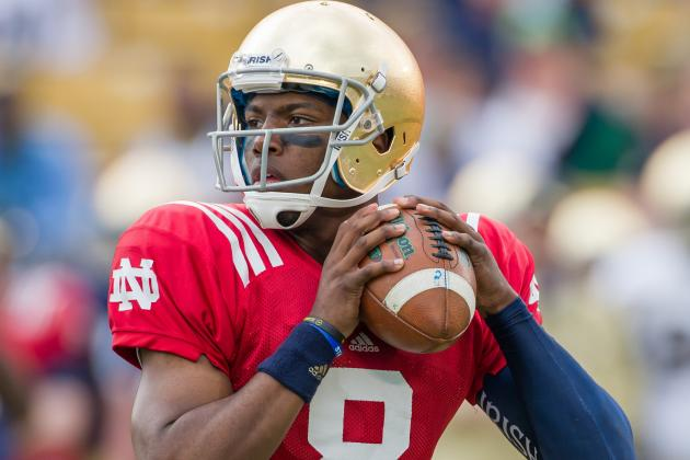 Notre Dame Gets the 'Right Answer' from Malik Zaire
