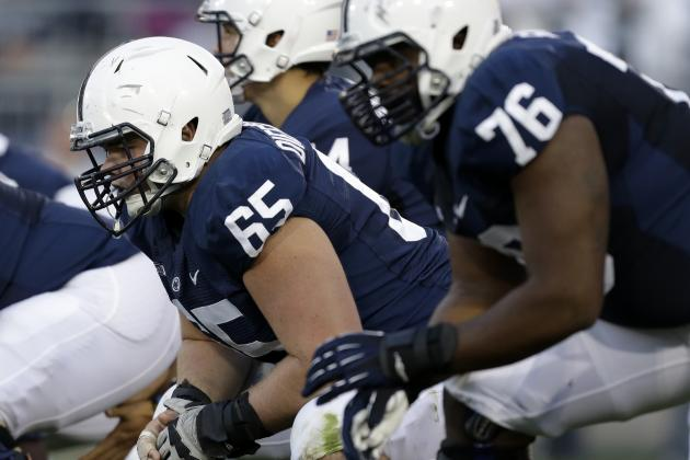 Criticism Motivates PSU Offensive Line