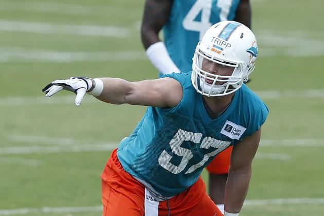 Practice Notes: No Timetable for Clay Return; Tripp Gets First Team Reps