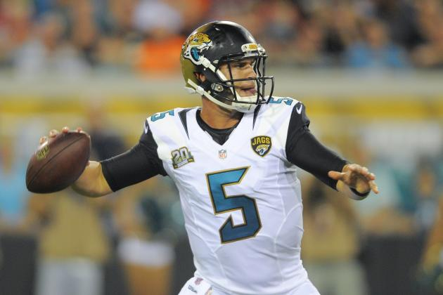 Blake Bortles Represents Jacksonville Jaguars' Best Chance to Win Now