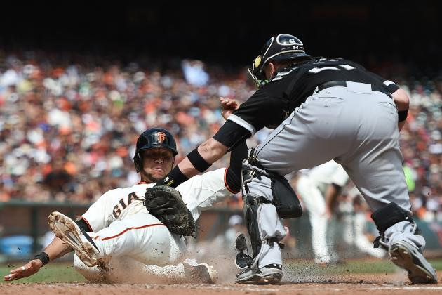 Replay Outcome Ignites Giants' 7-Run 7th to Snap 5-Game Skid
