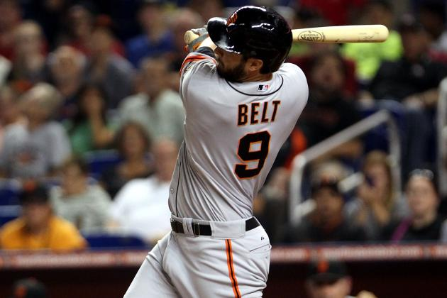 Giants Hoping Belt Turns Corner in Recovery