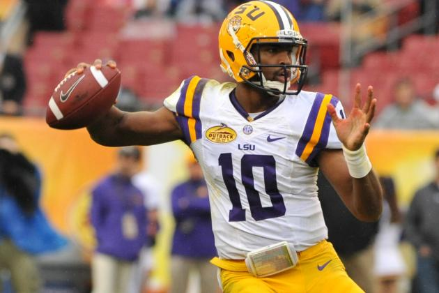 LSU QBs Do Not Deliver 'command' Performance