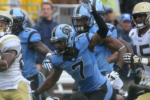 Undersized Carolina Defense Offering Speed, Energy