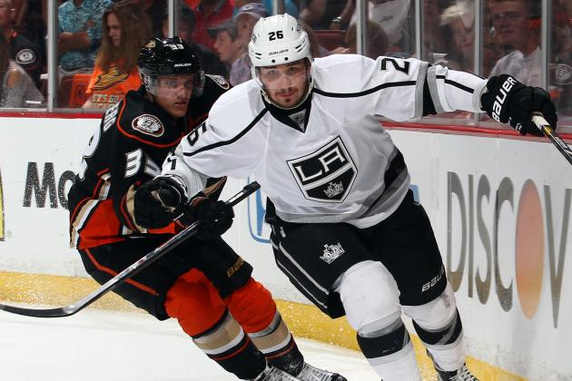 Kesler Addition Will Fuel Ducks-Kings Rivalry
