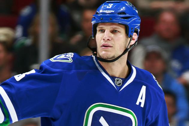 Vancouver Canucks: Bieksa Injures Leg, NHL Shares Stadium Series Spoils