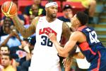 DeMarcus Cousins Injures Knee at Team USA Practice