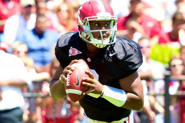 Alabama Football: How New Practice Format Will Impact QB Competition
