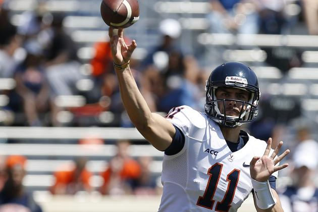 UVa QB Lambert Bulks Up 'To Take Hits and Deliver Them'