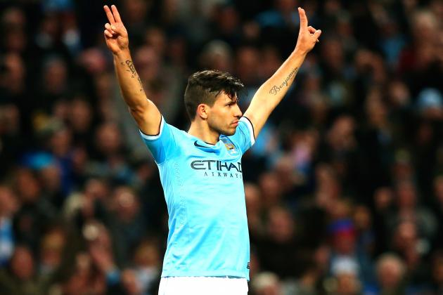 Sergio Aguero and Manchester City Agree on 5-Year Contract Extension
