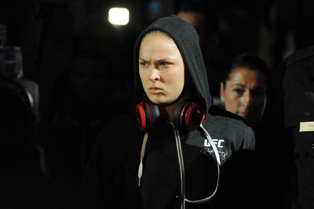 Ronda Rousey: I've Been Operating on One Leg for a Couple of Years