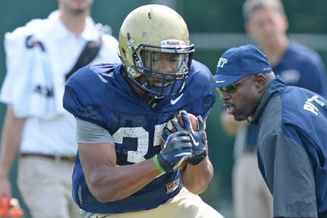 Pitt Freshman Running Backs Making Steady Progress