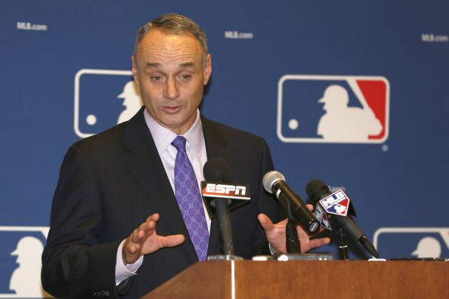 Twitter Reacts to Rob Manfred Being Named Next MLB Commissioner