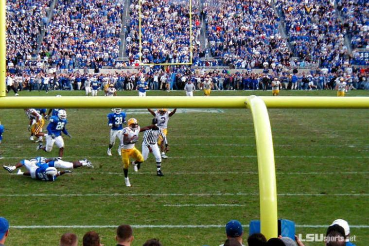 Throwback Thursday: LSU's Miracle Hail Mary in the 'Bluegrass Miracle'