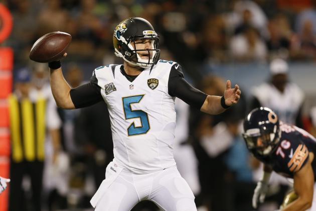 Instant Fantasy Reaction for Blake Bortles After Preseason Performance vs. Bears