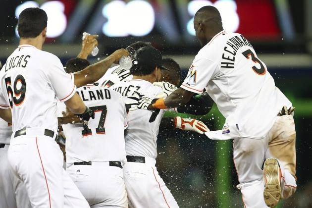 Marlins Take Series Opener in Dramatic Fashion