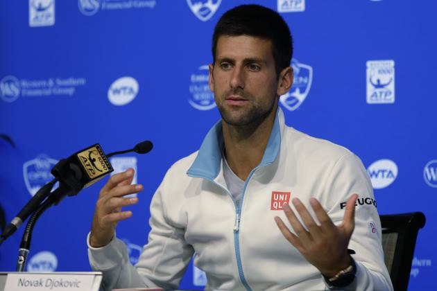 What Falling Short of Career Golden Masters Means for Novak Djokovic's Legacy