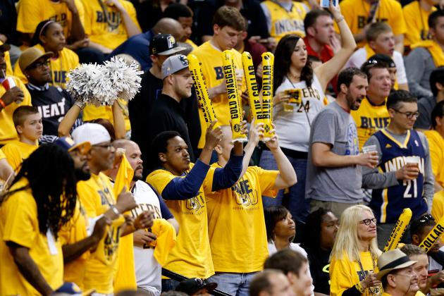 Report: Pacers Fans Not Bailing After George Injury